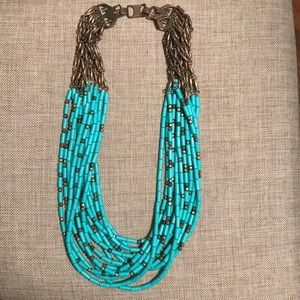Jewelry - Turquoise Link Necklace